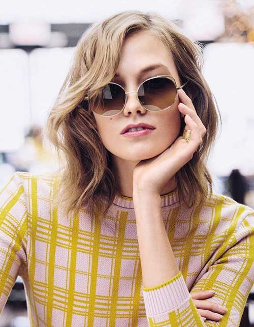 Karlie Kloss Short Hairstyles 2014