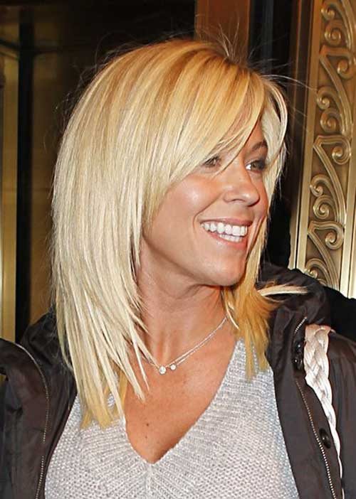 Kate Gosselin Short to Medium Length Haircuts