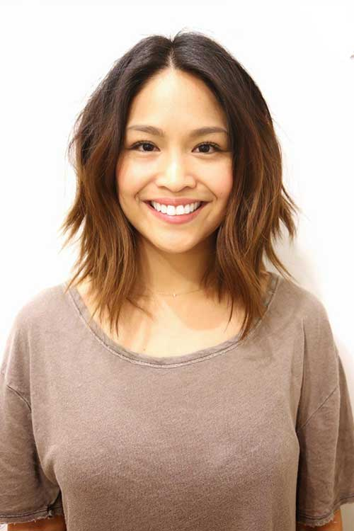 Layered Hairstyles for Short to Mid Length Haircuts