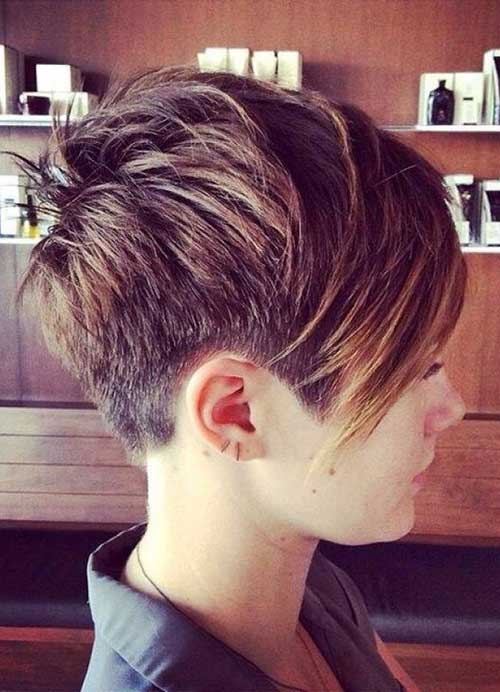 Layered Pixie Hairstyles for Short Haircuts