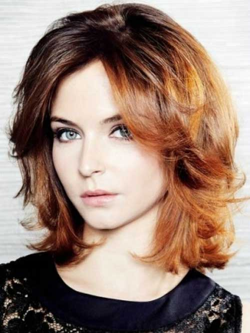 Layered Short Haircuts for Wavy Thick Hair 2015