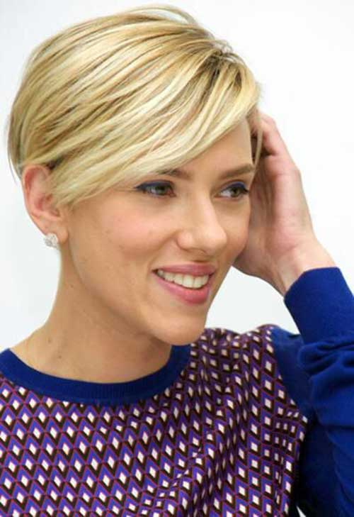 Long Blonde Pixie Hairstyles 2015