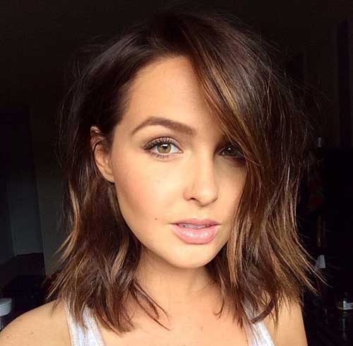 Nice Medium To Short Haircuts for Women