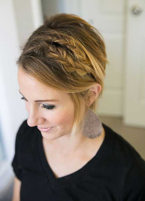 New Short Hair Braid Styles