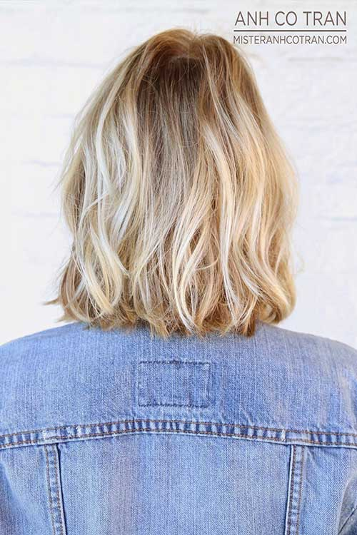 Platinum Blonde Highlights Short Hair 2016