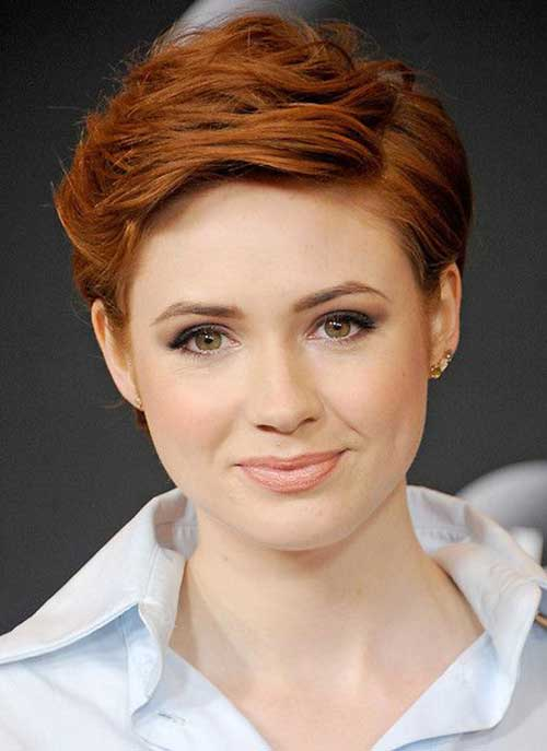 Red Pixie Cut Styles