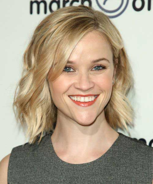 Reese Witherspoon Short Wavy Fine Haircuts