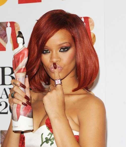 Rihanna Short Hair 2014 2015