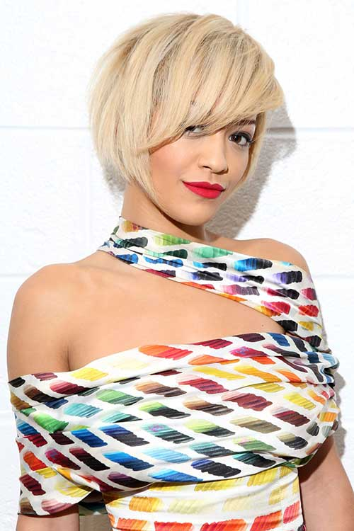Rita Ora's New Short Haircuts