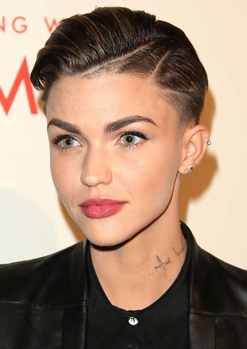 Ruby Rose Short Haircuts 2014 2015