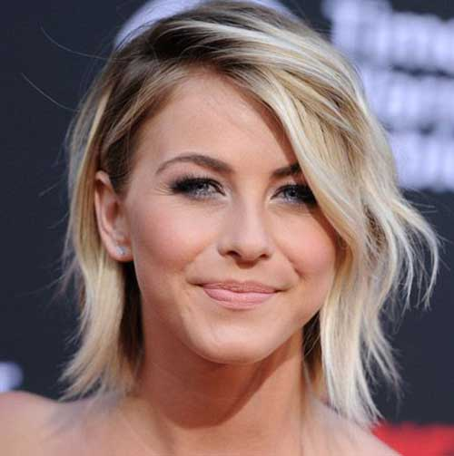Sand Blonde Short Wavy Thin Hair