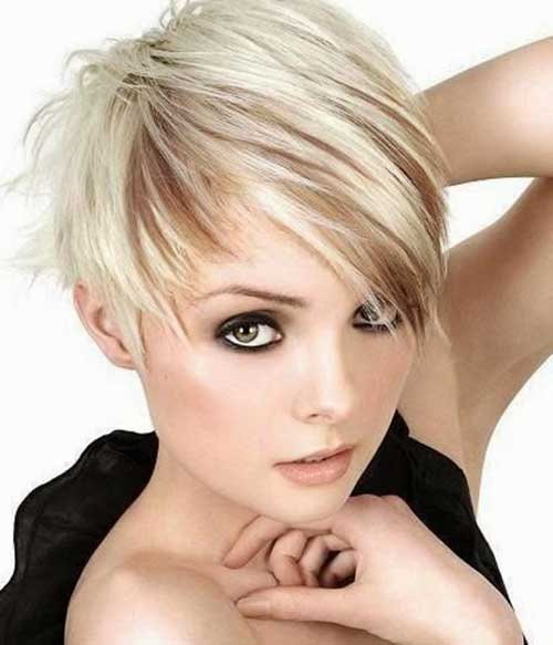 Short Asymmetrical Edgy Haircuts