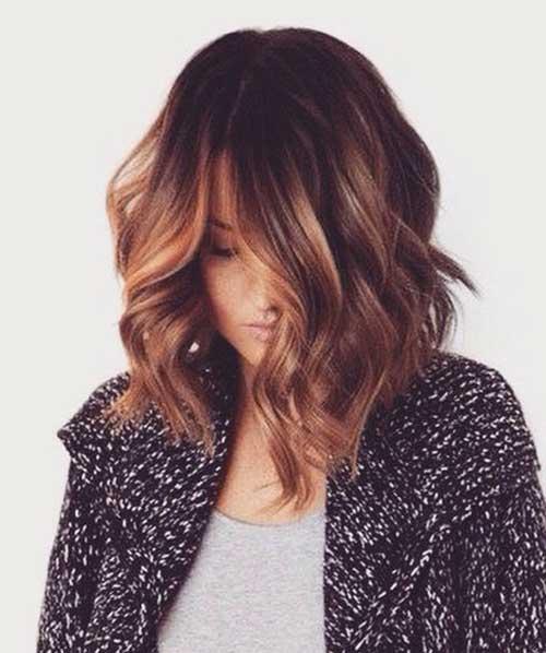 Short Balyaged Haircuts for 2014