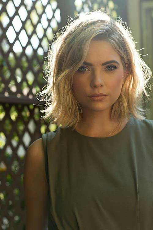 Short Blonde Haircut for Women