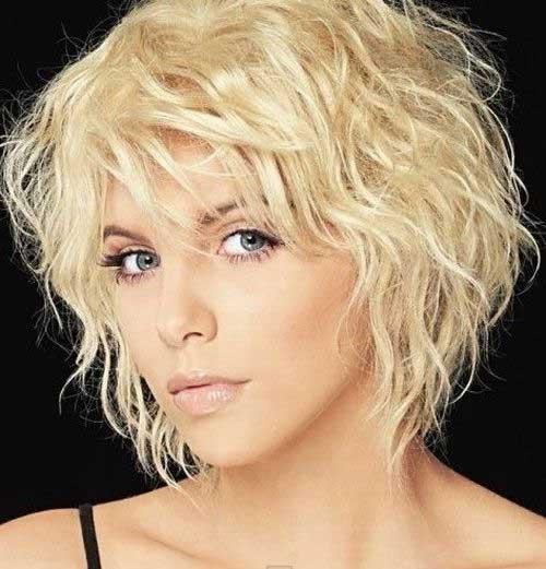 Short Blonde Haircuts for Fine Wavy Hair Ideas