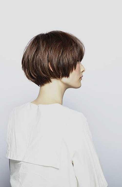 Short Cropped Thick Hairstyles