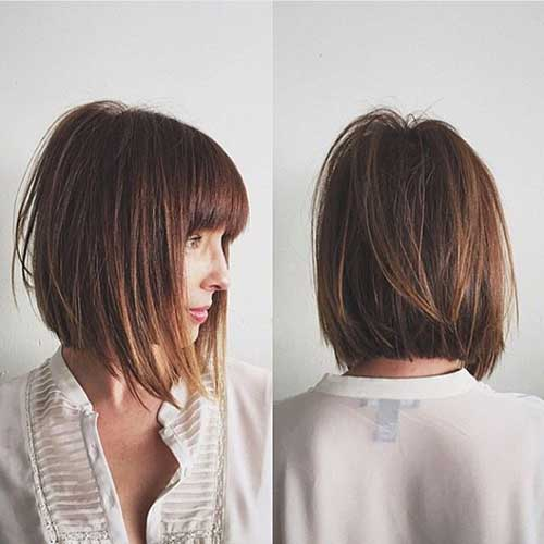 Short Dark Haircuts for 2015