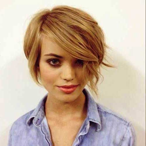 Edgy short haircut