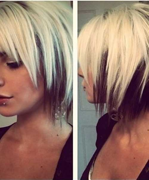 Layered Short Funky Haircuts