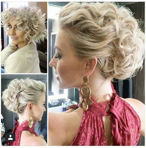 Most Attractive Short Hairdos For Parties
