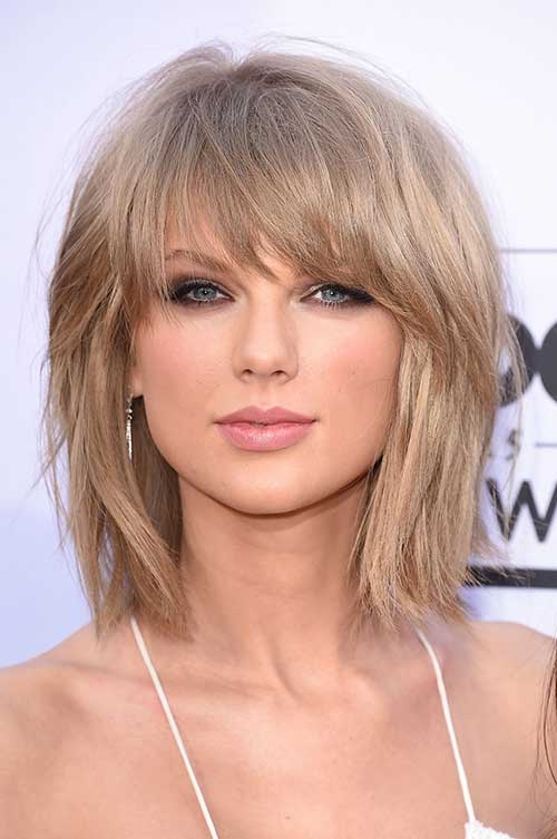 Short Haircut with Bangs Ideas for Women