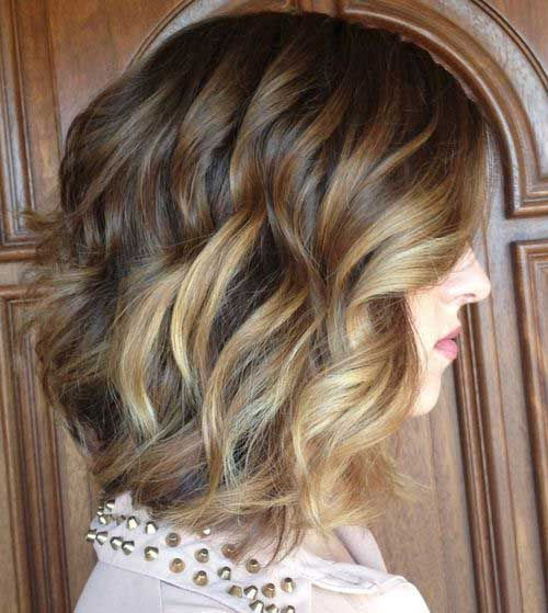 Short Haircuts for Wavy Curly Hair 2014