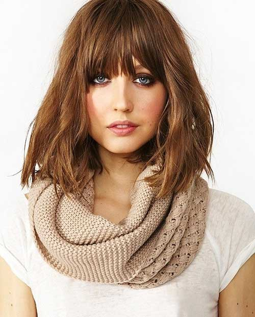 Magnificent 15 Short Haircuts For Fine Wavy Hair Short Hairstyles 2016 Short Hairstyles Gunalazisus