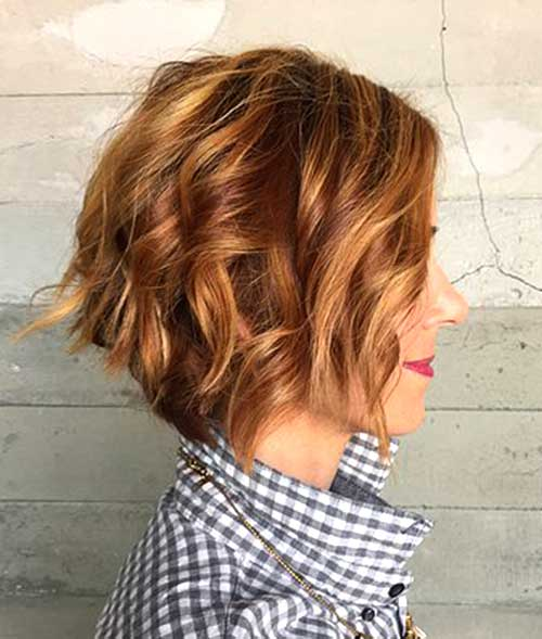 10 Short Hairstyles For Thick Wavy Hair Short