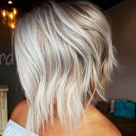 Angled-LOB Hair