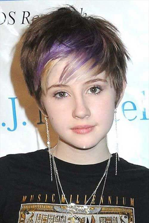Short Layered Hairstyles for Girls 2014