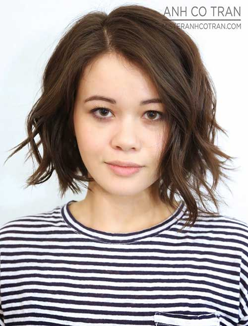 Short Messy Wavy Hairstyles 2016