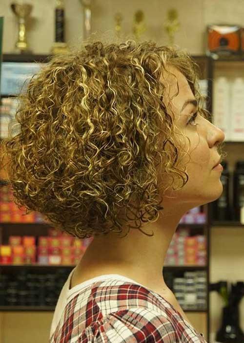 Short Perm Curly Hair Styles