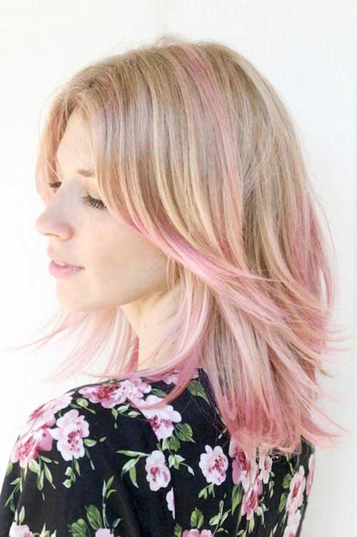 Short Pink Haircuts 2015 2016