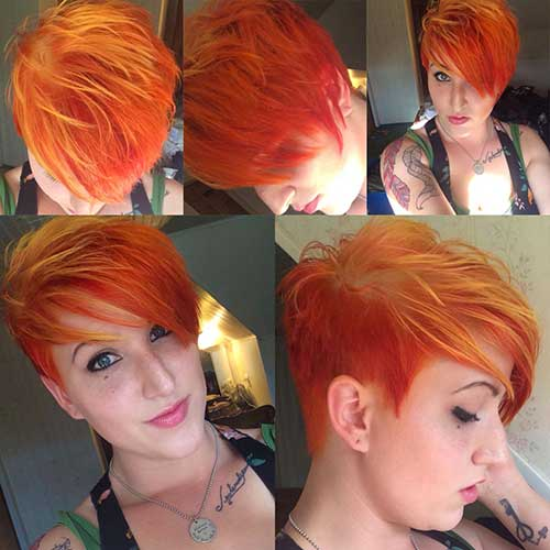 Short Punk Pixie Haircuts