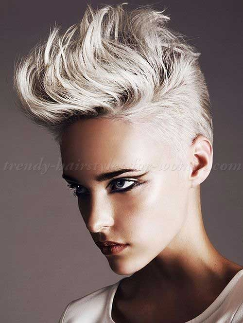 Short Punk Spiky Pixie Hairstyles
