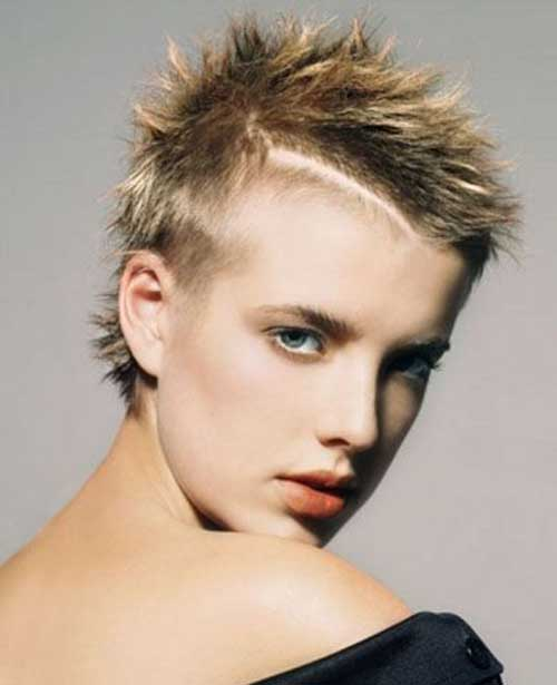 Short Punk Thin Pixie Hairstyles