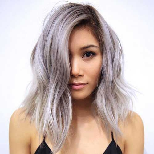 Best Short Silver Haircuts for Women