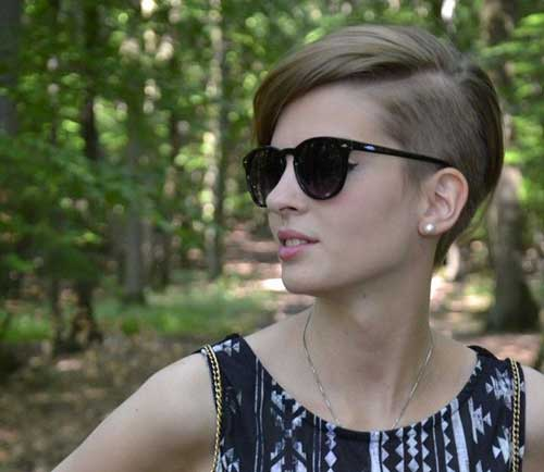 Short Undercut Hairstyles for Women