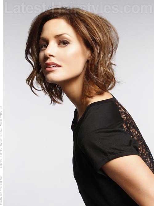 Short Wavy Fine Hairstyles