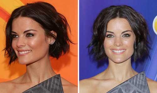 Short Wavy Haircut for Women