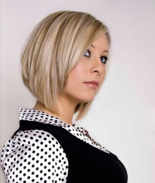 Short Wedge Blonde Haircut