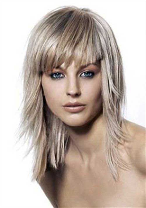 Best Short to Medium Length Hair with Bangs
