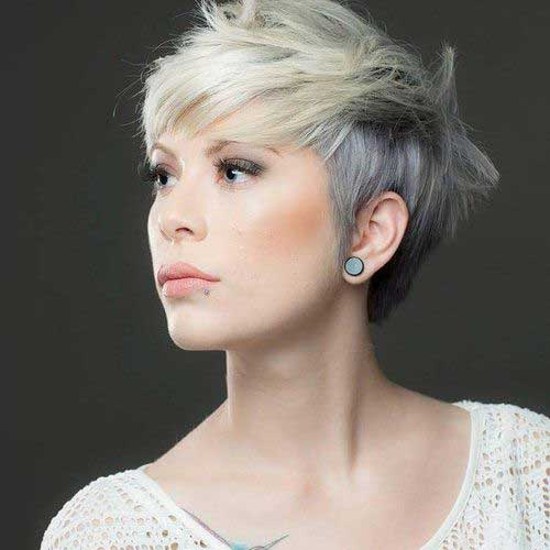 Silver Pixie Cut Styles