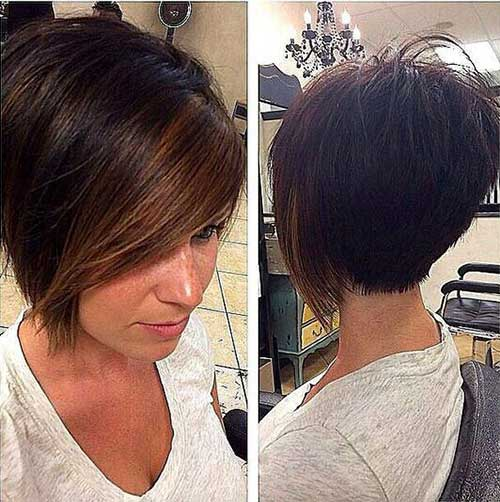Simple Cut Short Bob Haircuts For Women