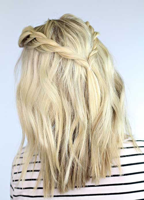 Simple Braided Short Haircuts