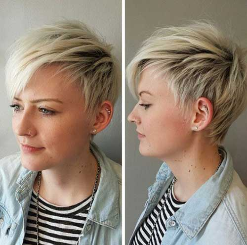 Simple Short Shaggy Hair Styles