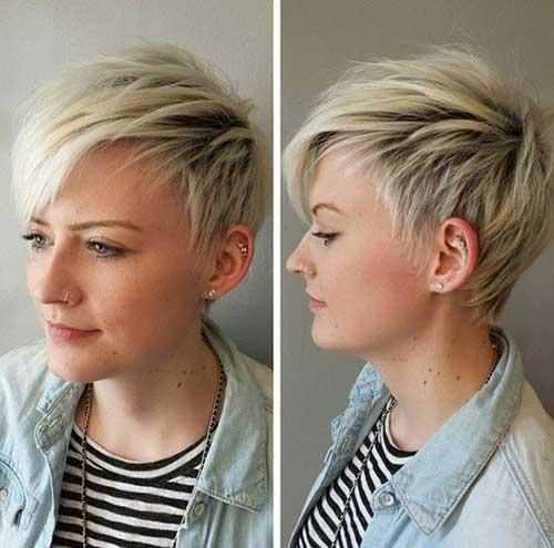 Simple Short Shaggy Hair Styles