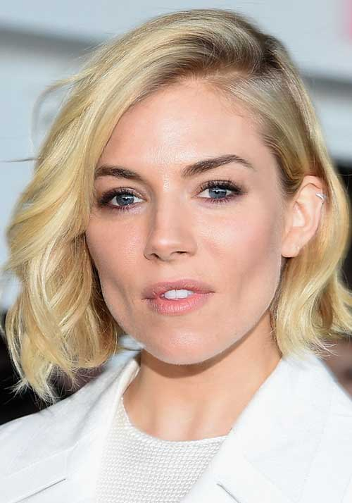 Simple Short Side Swept Hair Styles