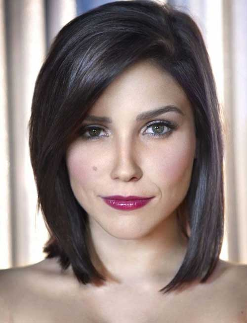 Simple Short Straight Hair For Women