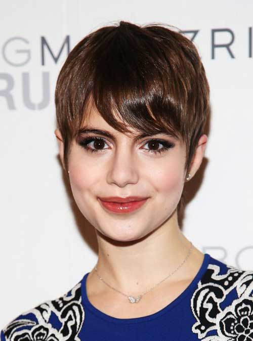 Straight Pixie Hairstyles 2014 2015